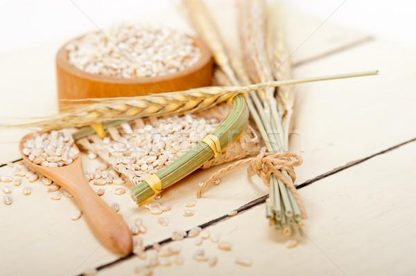 organic wheat grains  Stock photo © keko64