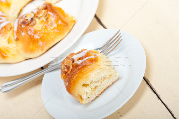 Zoete brood donut cake vers home Stockfoto © keko64
