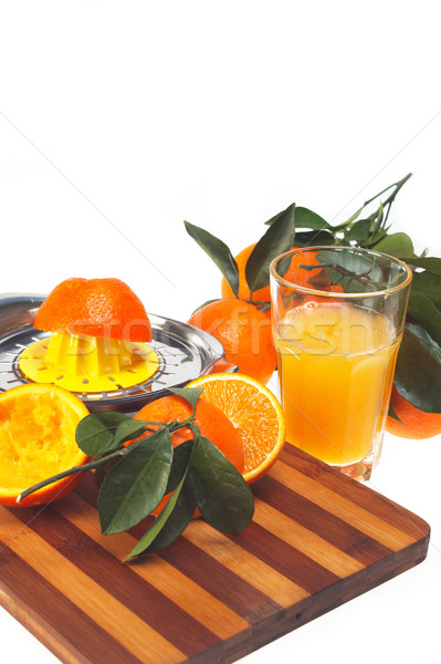 fresh orange juice Stock photo © keko64