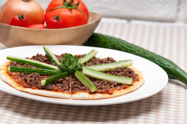 Turco carne pizza pepino topo fresco Foto stock © keko64