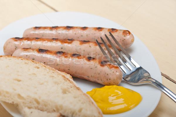 traditional German wurstel sausages Stock photo © keko64