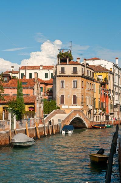Venetië ongebruikelijk Italië plaats Stockfoto © keko64