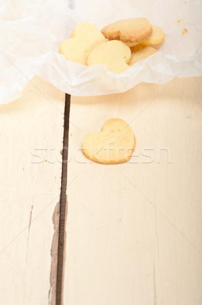 Coração valentine bolinhos fresco Foto stock © keko64