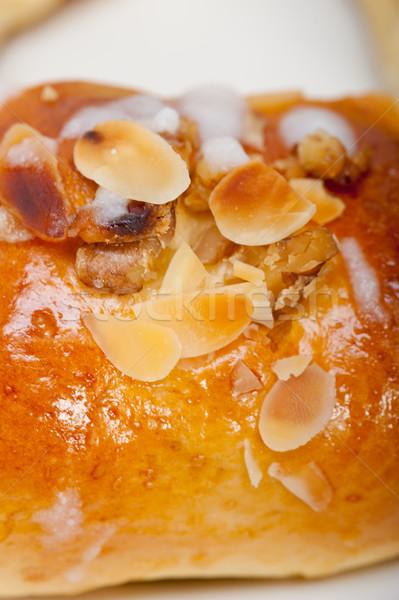 Doce pão rosquinha bolo fresco casa Foto stock © keko64