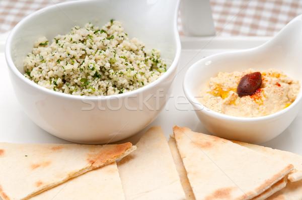 Stok fotoğraf: Kuskus · taze · geleneksel · Arap · gıda · beyaz