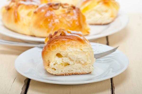 Sweet хлеб пончик торт свежие домой Сток-фото © keko64