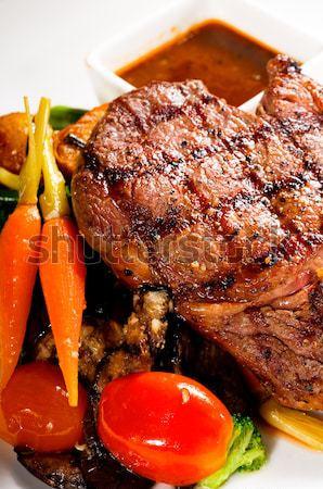 grilled ribeye steak Stock photo © keko64