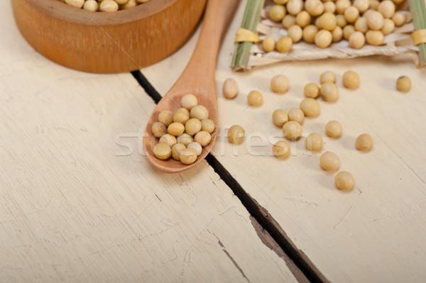 organic soya beans  Stock photo © keko64