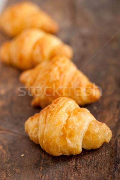 fresh croissant french brioche  Stock photo © keko64