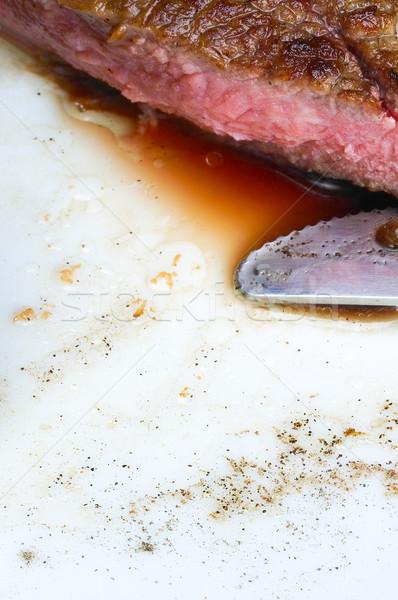 Stock photo: beef ribeye steak