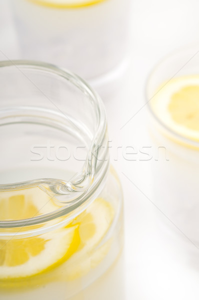 fresh lemonade drink Stock photo © keko64