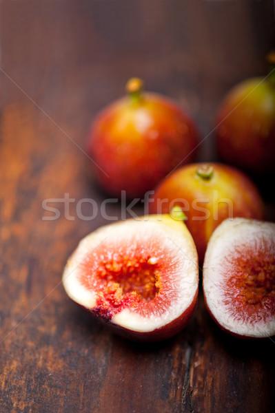 新鮮な 古い木材 マクロ クローズアップ 食品 フルーツ ストックフォト © keko64
