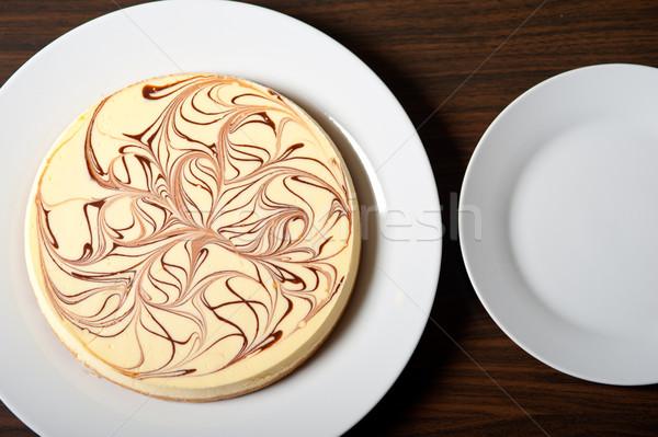 チーズケーキ 新鮮な チョコレート 食品 ストックフォト © keko64