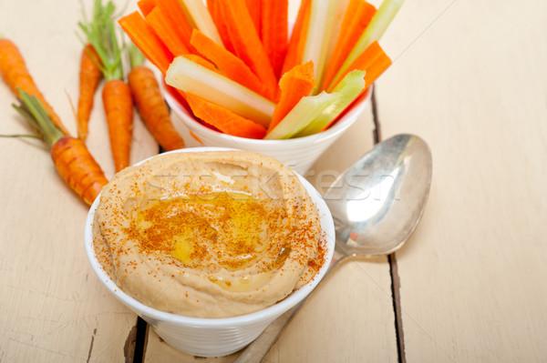 Fraîches brut carotte céleri arabes Photo stock © keko64
