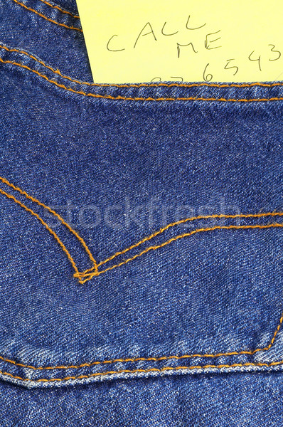 message in a pocket Stock photo © keko64