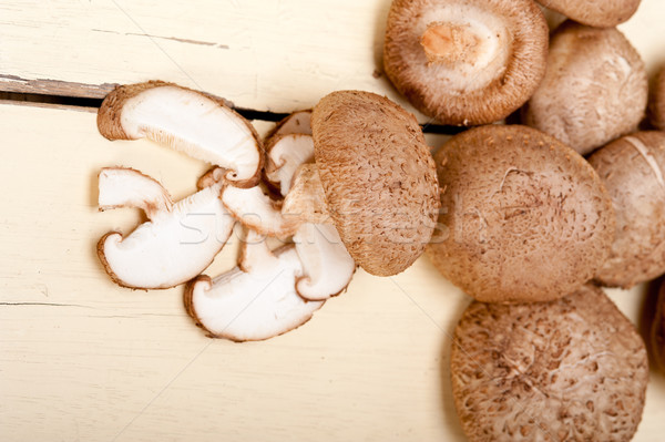 shiitake mushrooms Stock photo © keko64