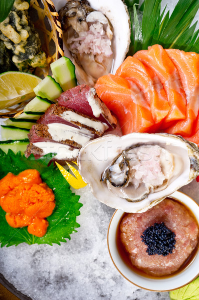Fresco sushi escolha combinação macro Foto stock © keko64