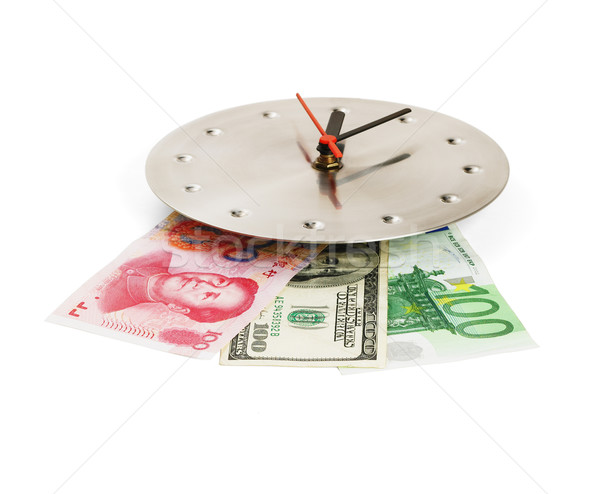 currency on a clock Stock photo © keko64