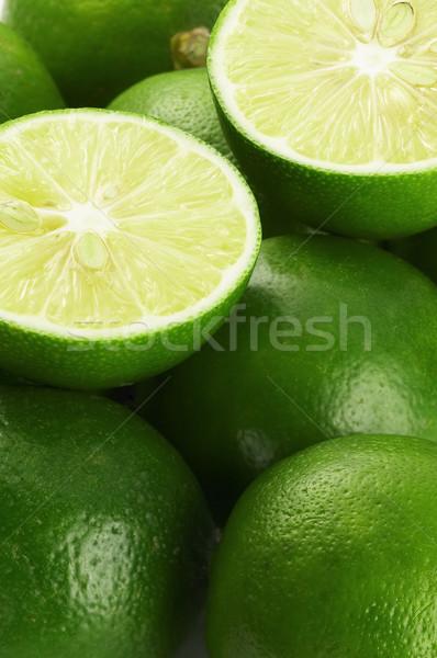 Citrus élénk zöld friss kilátás közelkép Stock fotó © keko64