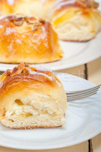 sweet bread donut cake Stock photo © keko64