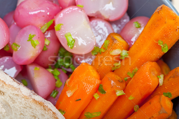 steamed  root vegetable on a bowl Stock photo © keko64