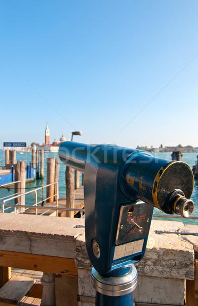 Velence Olaszország szokatlan kilátás turisztikai hely Stock fotó © keko64