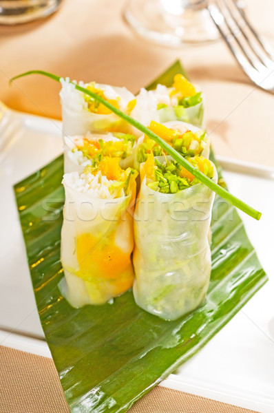 vietnamese style summer rolls Stock photo © keko64