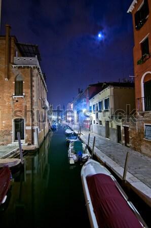 Venedik İtalya olağandışı manzaralı görmek Stok fotoğraf © keko64