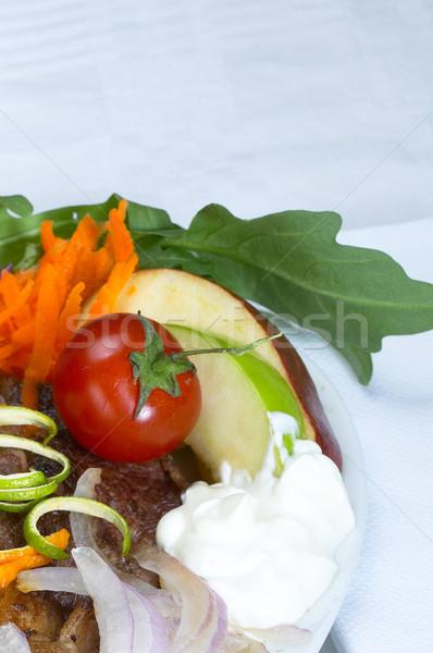 beef ribeye steak Stock photo © keko64