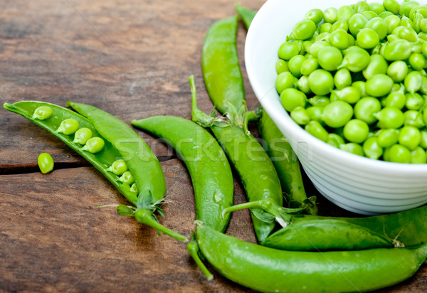 hearthy fresh green peas  Stock photo © keko64