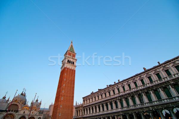 Venice Italy Saint Marco square view Stock photo © keko64