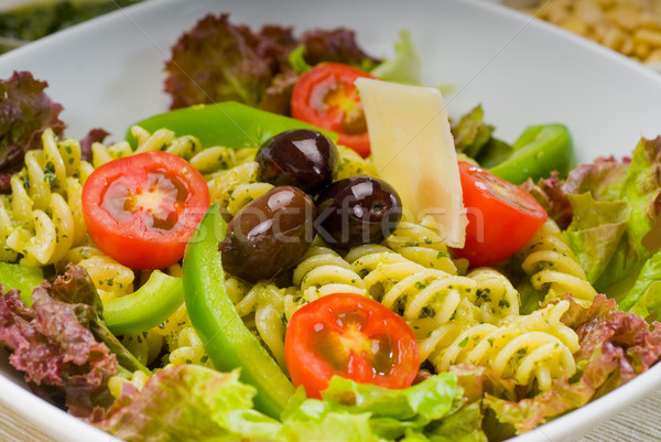 italian fusilli pasta salad Stock photo © keko64