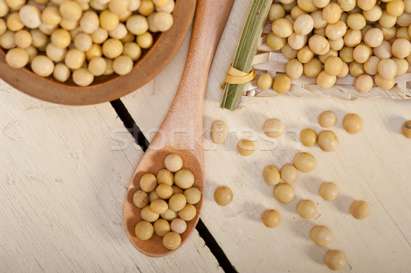organic soya beans  Stock photo © keko64