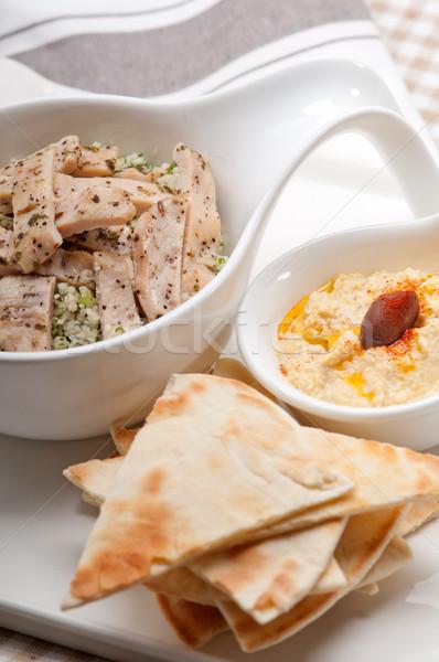 Сток-фото: куриные · свежие · традиционный · арабских · продовольствие