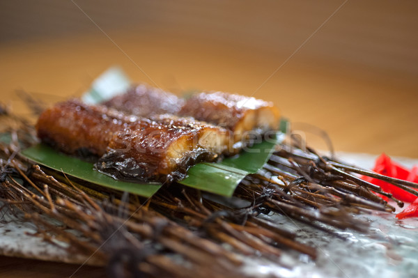Japanese style roasted eel  Stock photo © keko64