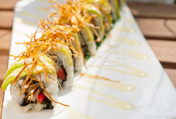 Japanese sushi rolls Maki Sushi  Stock photo © keko64