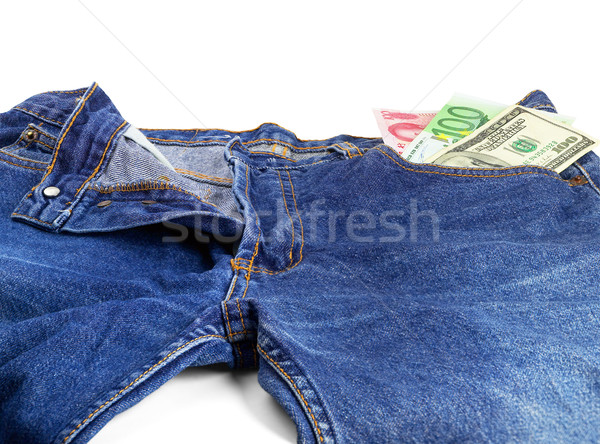 bluejeans and money Stock photo © keko64