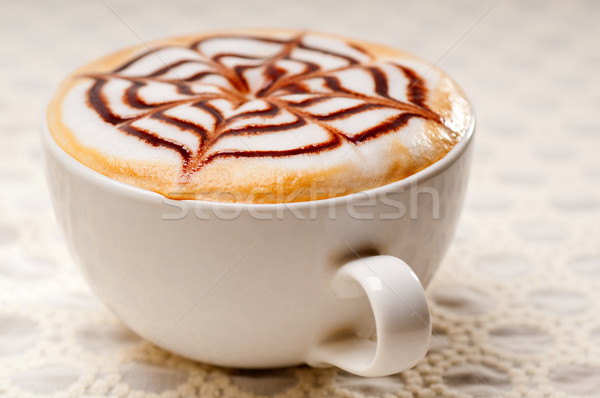 cappuccino cup Stock photo © keko64