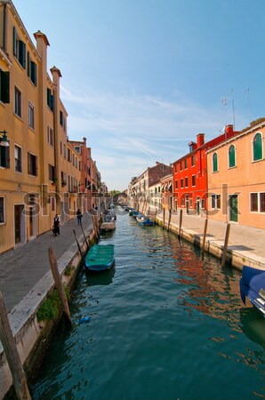 Venice Italy unusual pittoresque view Stock photo © keko64