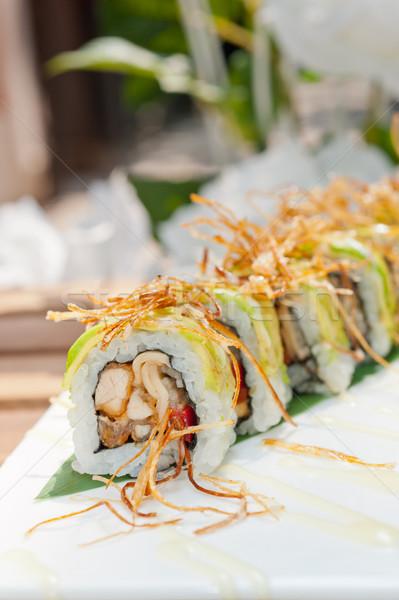Japanese sushi rolls Maki Sushi  Stock photo © keko64