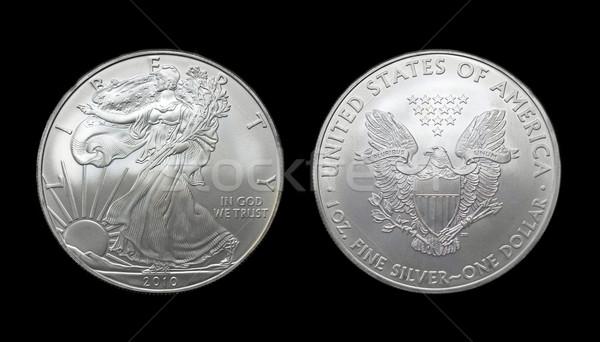 American silver eagle dollar coin Stock photo © keko64