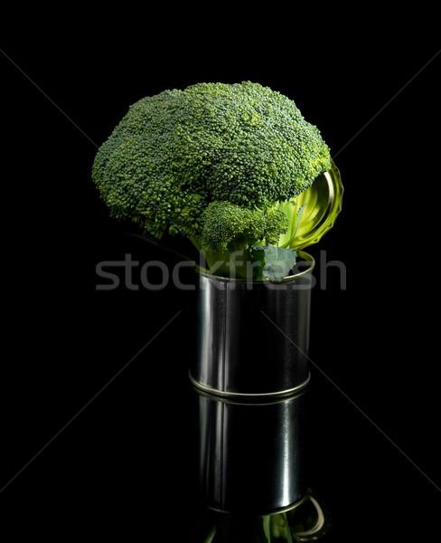 broccoli on a tin can Stock photo © keko64