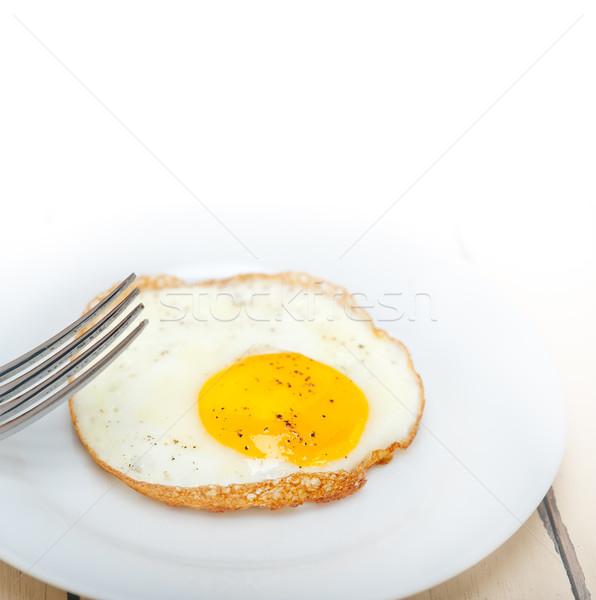 egg sunny side up Stock photo © keko64
