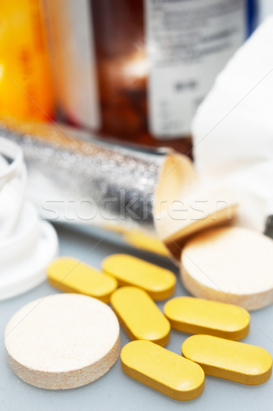 vitamin pills  Stock photo © keko64