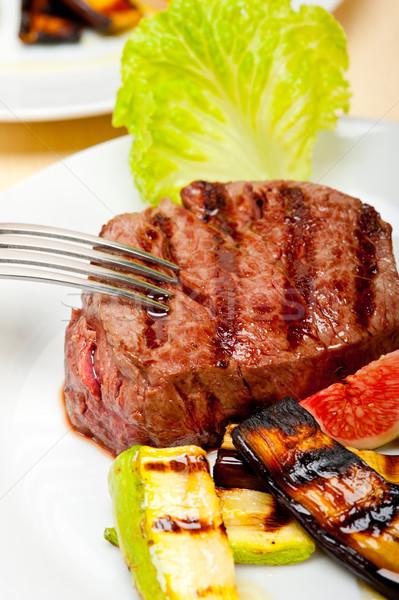 grilled beef filet mignon Stock photo © keko64