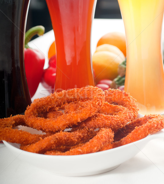 calamari rings Stock photo © keko64