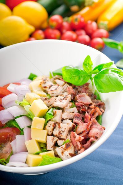 fresh caesar salad Stock photo © keko64