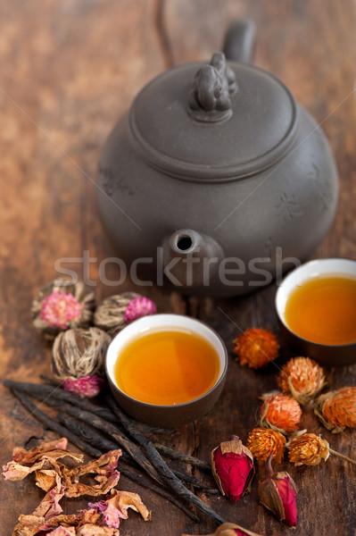 Chinese style herbal floral tea Stock photo © keko64