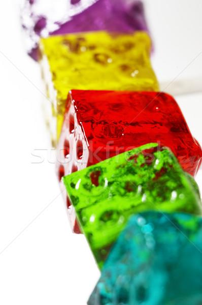 colorfull dice lollipops Stock photo © keko64