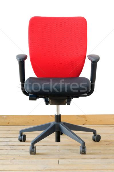 modern red office chair Stock photo © keko64